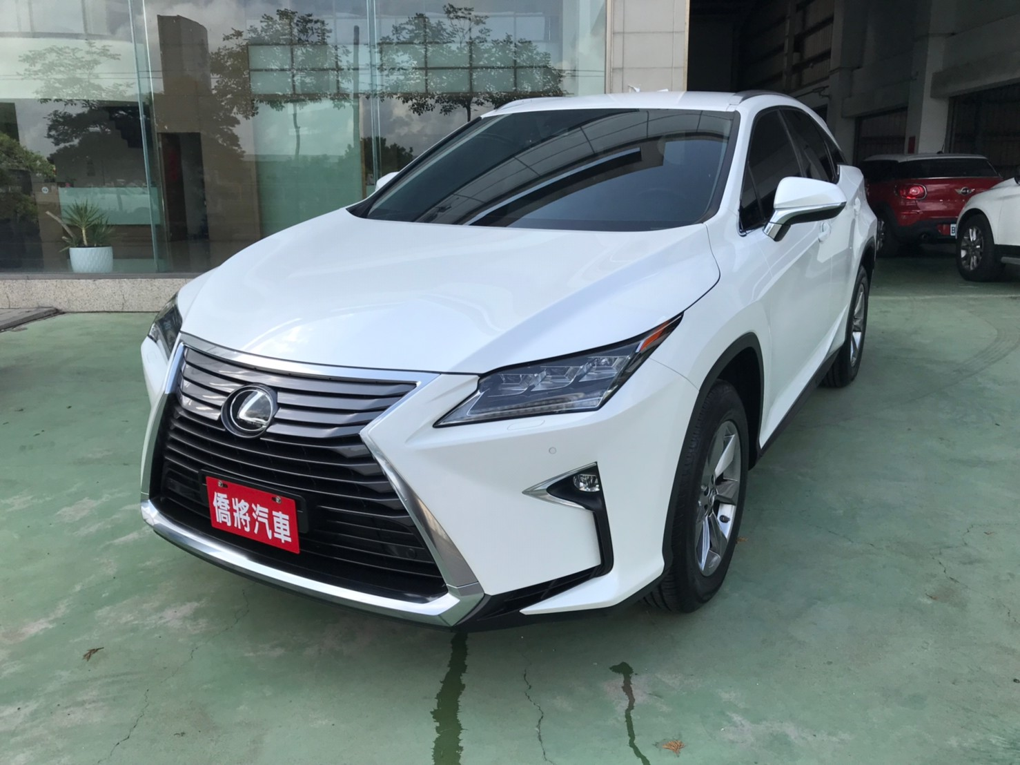 2018RX300白SUM151.8 2.0cc 主動跟車 AEB自動緊急煞車 車道偏離 盲點補助_210620_8