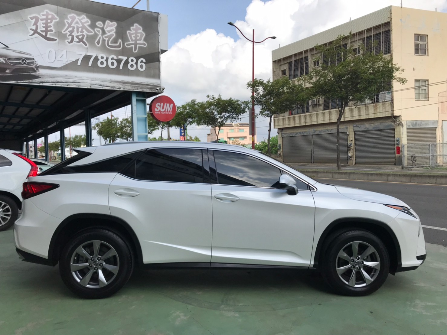 2018RX300白SUM151.8 2.0cc 主動跟車 AEB自動緊急煞車 車道偏離 盲點補助_210620_2