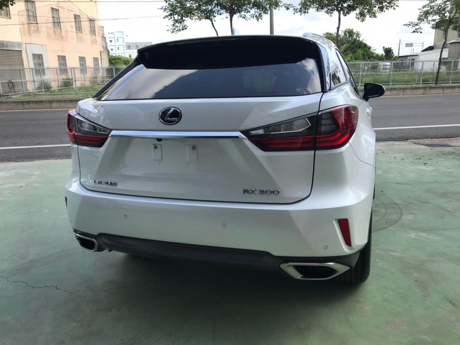 2018RX300白SUM151.8 2.0cc 主動跟車 AEB自動緊急煞車 車道偏離 盲點補助_210620_1