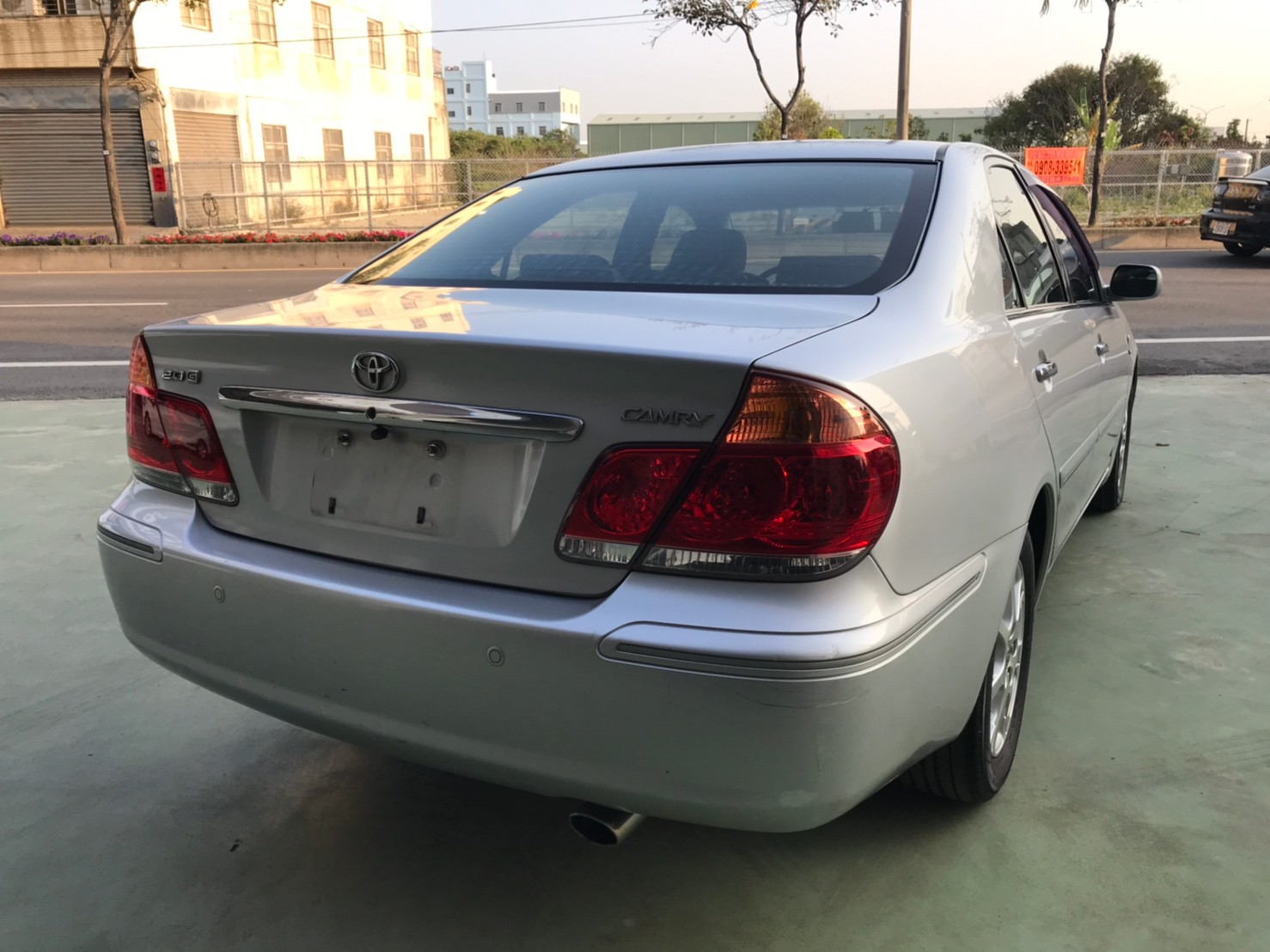 2006年銀CAMRY2.0一手車 無待修 實跑13萬公里 SUM15.8萬_210410_5